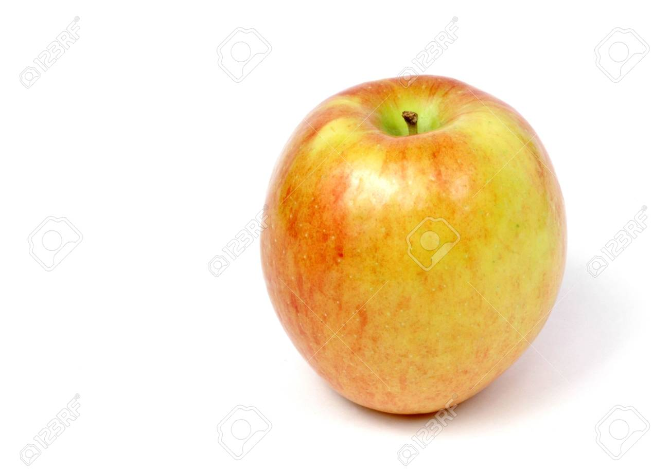 apple isolated on white - 648833