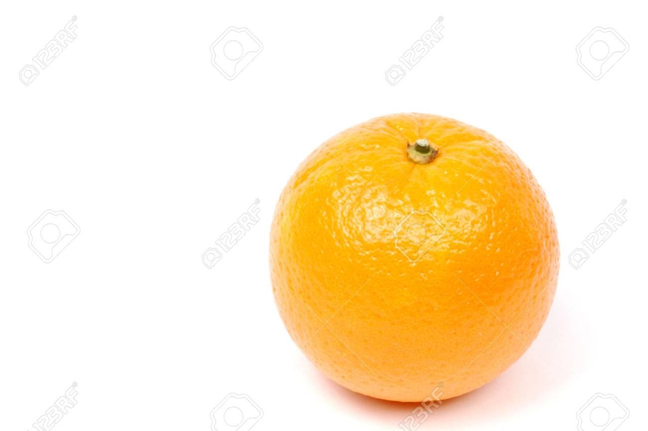 orange isolated on white - 648830