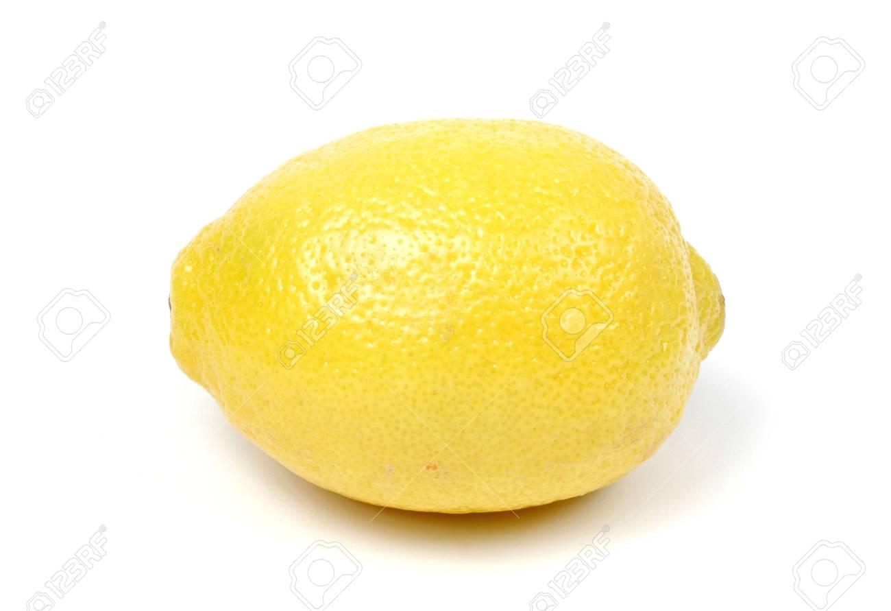 Lemon Isolated on White - 694593