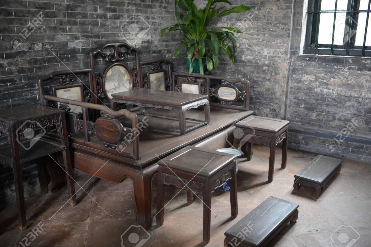 Antike Chinesische Möbel Lizenzfreie Fotos Bilder Und Stock