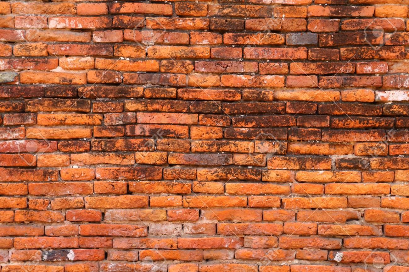 old Brick Wall at Ancient city Ayutthaya Thailand. Stock Photo - 7806619