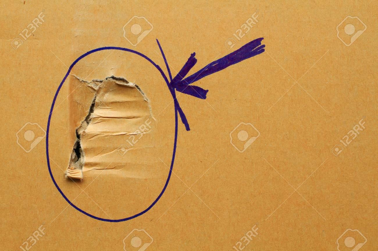 Cardboard background Stock Photo - 21830411
