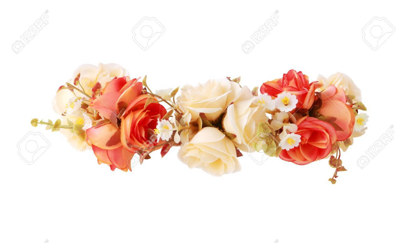 Flower crown isolated on white background stock photo picture and flower crown isolated on white background stock photo 72181890 izmirmasajfo Images