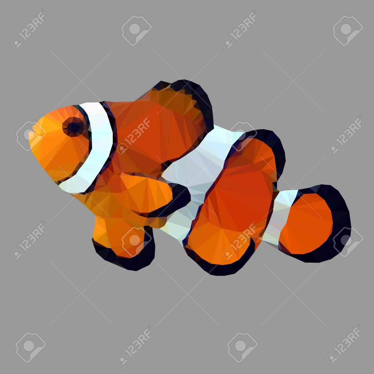Clown Fish Nemo Catoon Stock Photo, Picture And Royalty Free Image ...