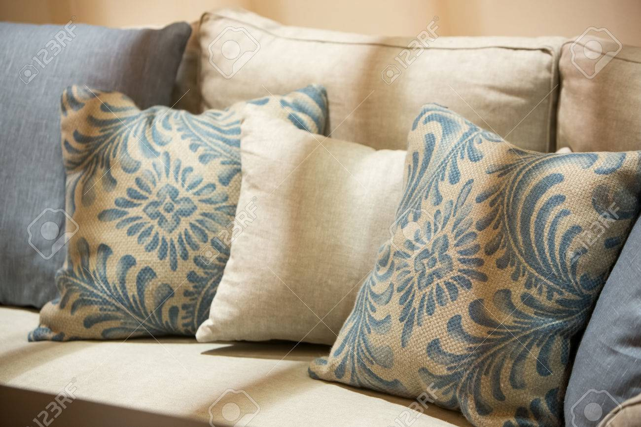 Earth Tone Throw Pillows.Earth Tone Color Pillows And Cushion On A Luxury Style Fabric