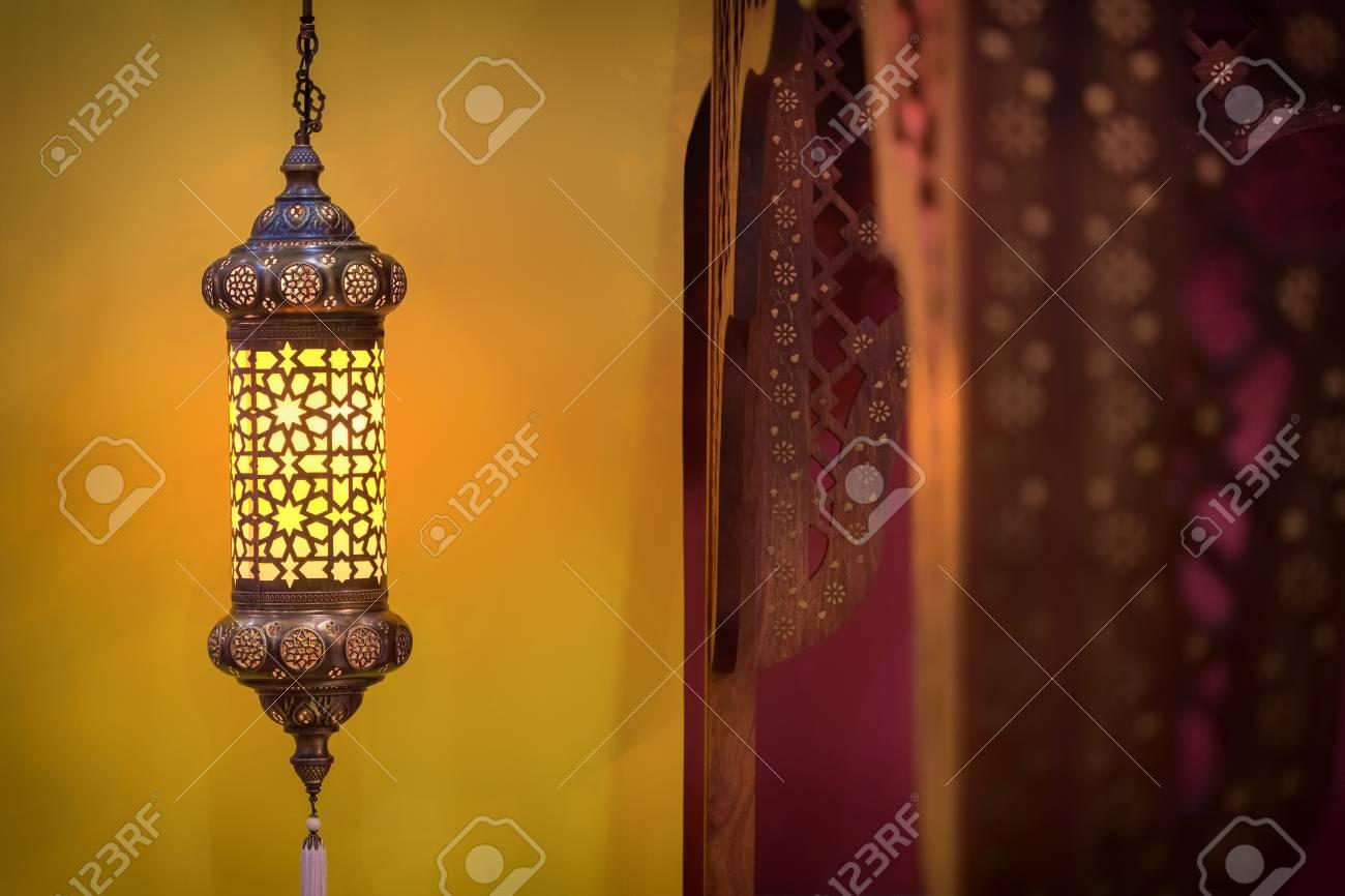 Camere Da Letto Marocco : Immagini stock lampada in stile marocco all interno di una