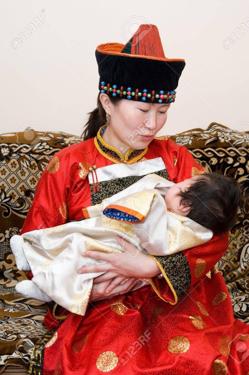 Дети от русского и калмычки фото