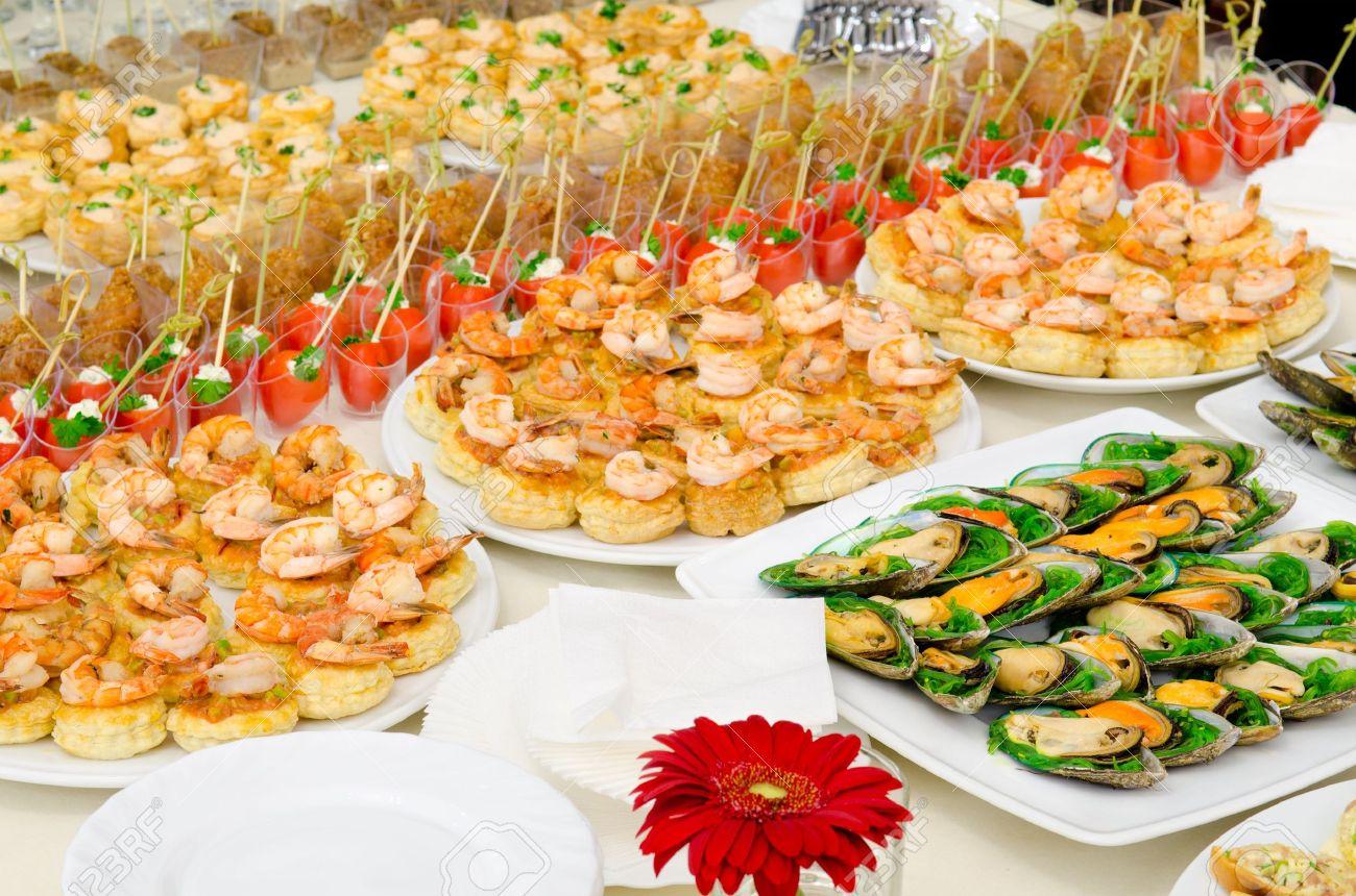 Праздничные закуски на свадьбу рецепты