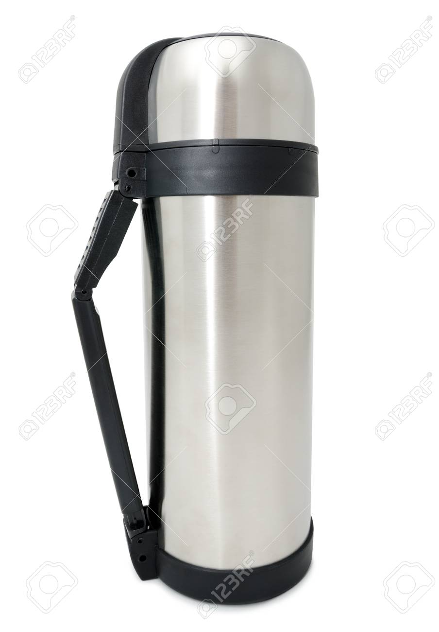a stainless steel bottle Stock Photo - 16327445