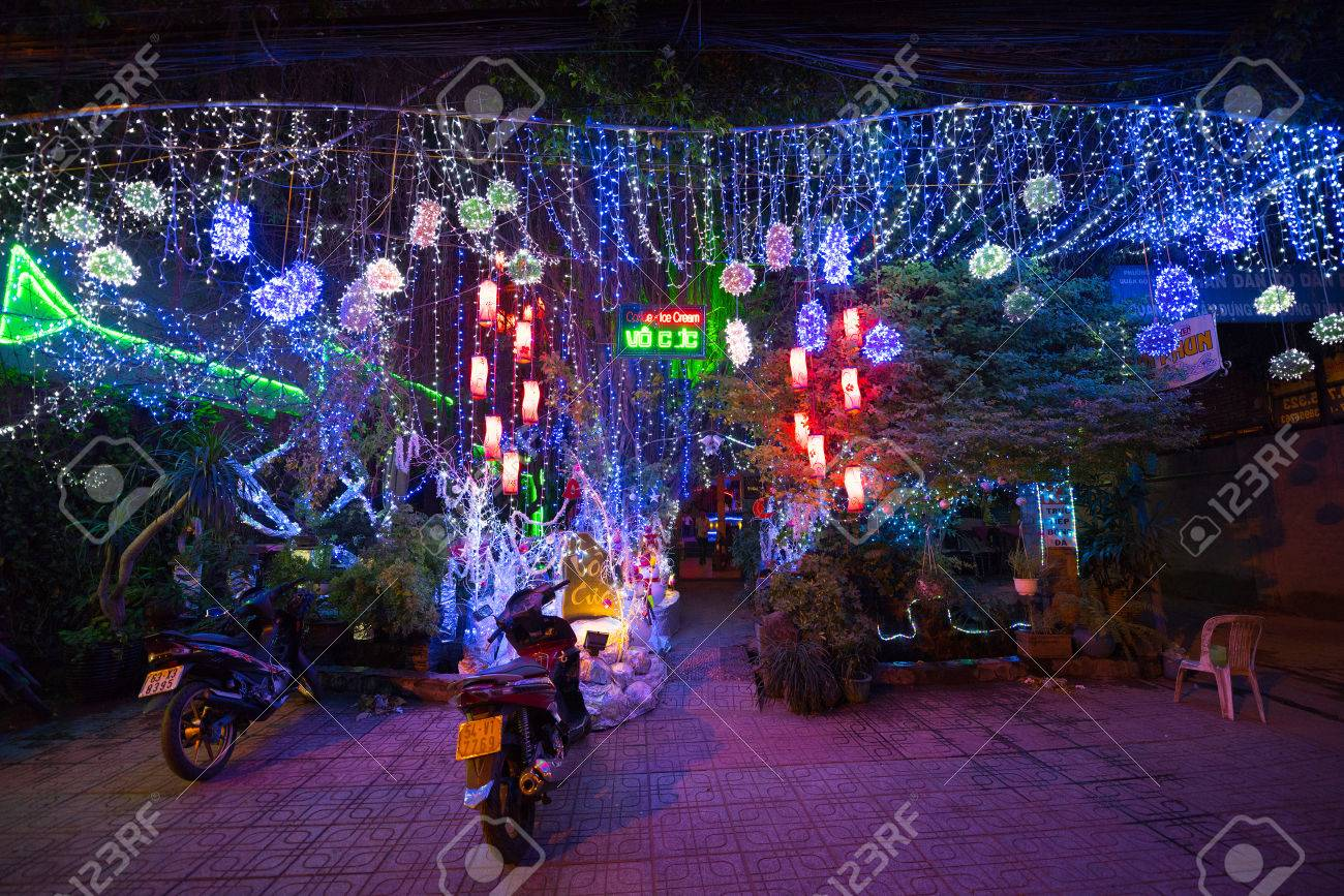 Immagini stock ho chi minh vietnam 28 dicembre 2014: un bar
