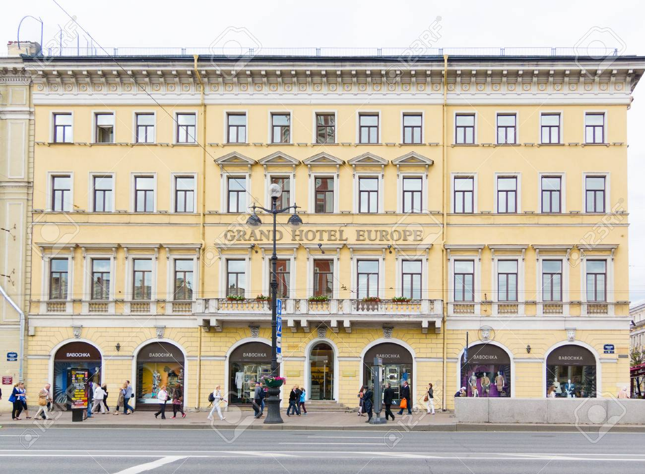 St Petersburg May 29 2011 The Grand Hotel Europe Side View Stock Photo Picture And Royalty Free Image Image 36940264