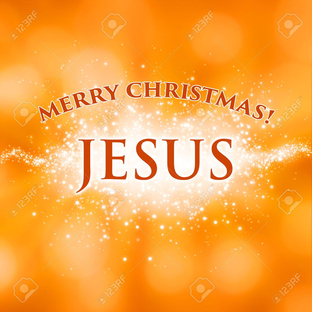 Frohe Weihnachten Jesus.Stock Photo