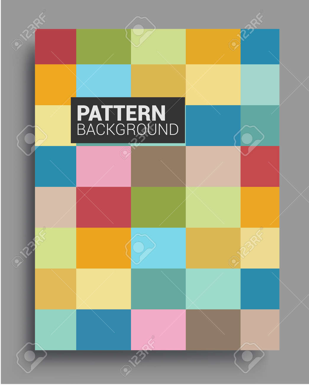 Modern geometric abstract background covers. Cool gradient shapes composition, vector covers design. - 157799846