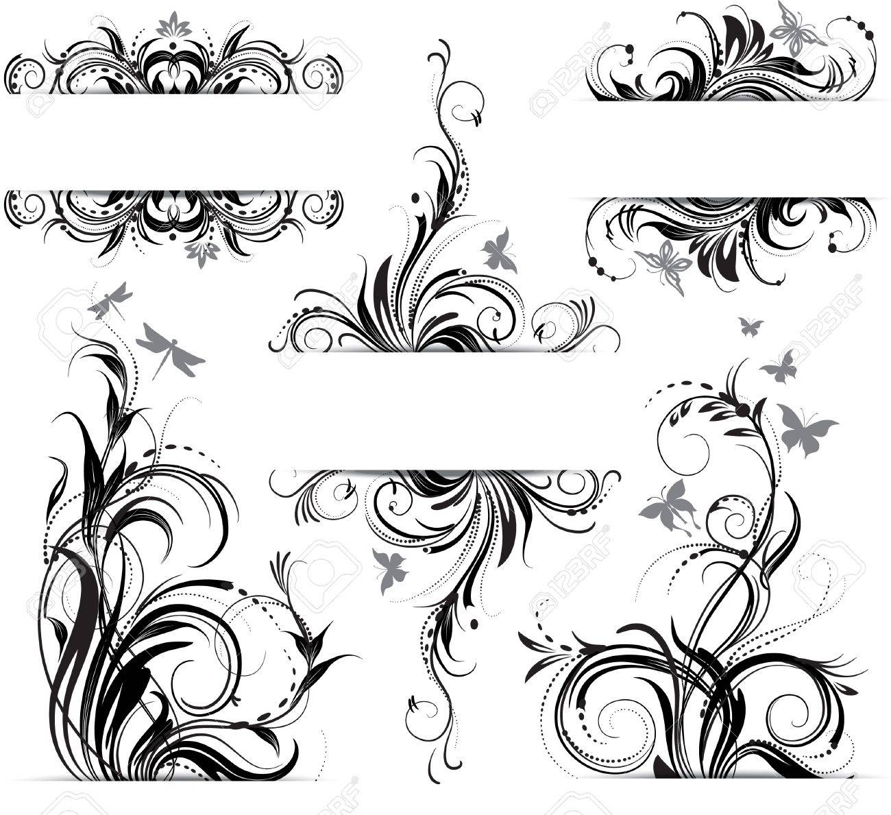 Floral ornament Stock Vector - 12793014