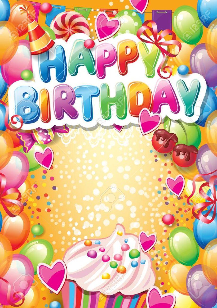 Karte Zum Geburtstag Alles Liebe Glasmagnet