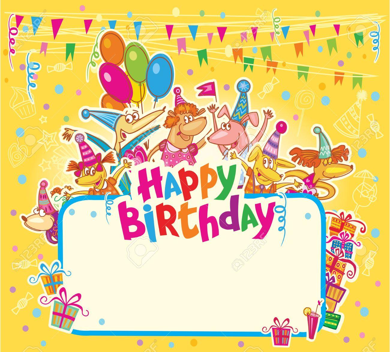 Happy birthday card - 36162487