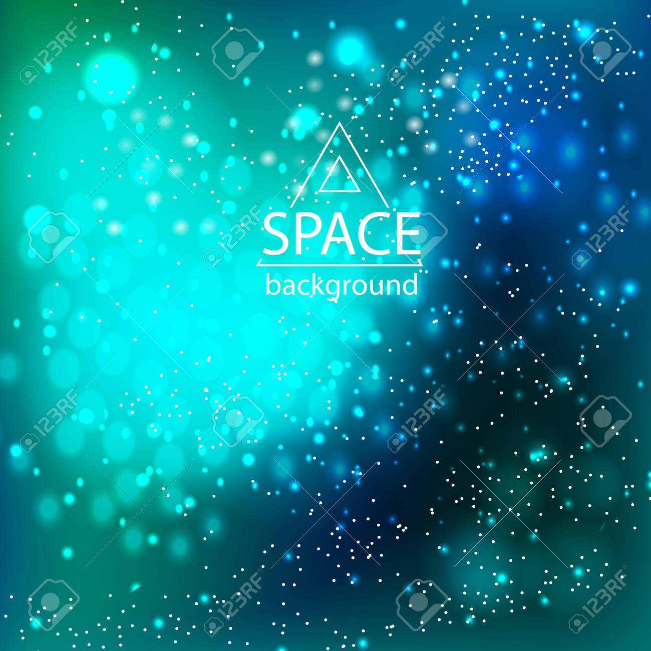 Abstract space galaxy background with cosmic light and stars - 135025811
