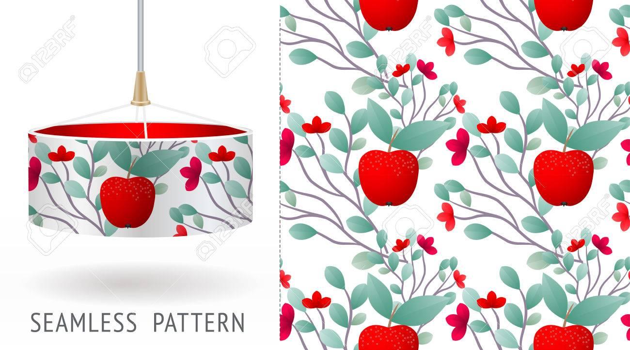 Un Conjunto De Patrones Abstractos únicos Sin Costura De Frutas Y ...
