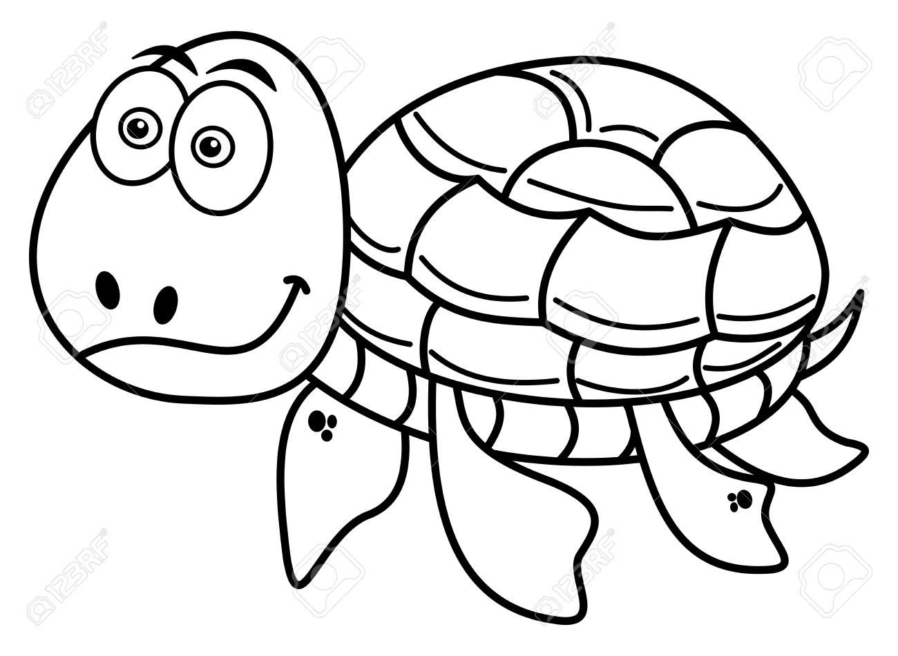Tortugas Para Colorear. Printable Ninja Turtle Para Colorear With ...
