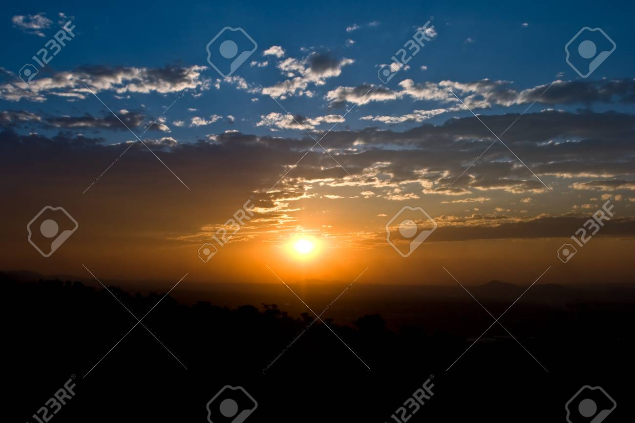 Pure Sunset Stock Photo - 9769058
