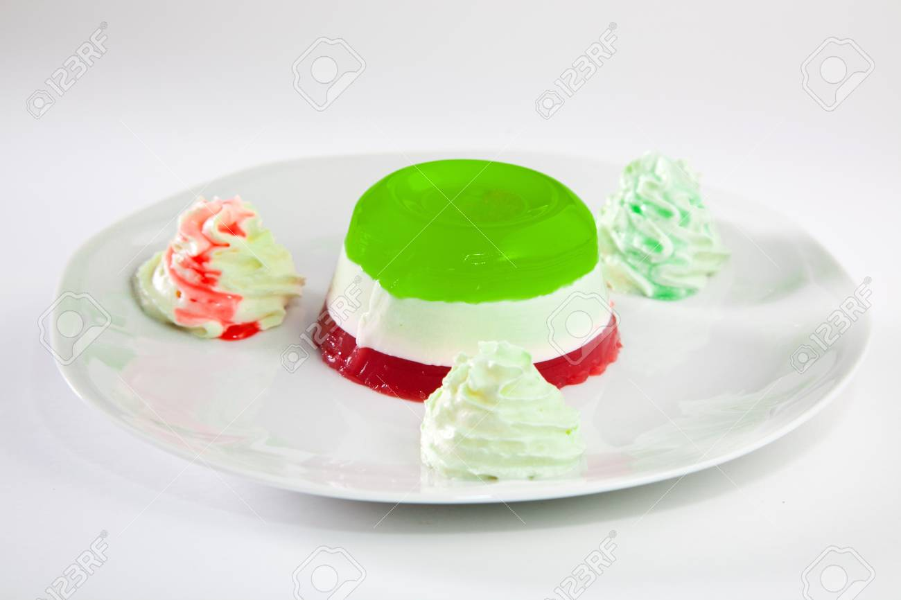 Italian Panna Cotta Stock Photo - 10464057