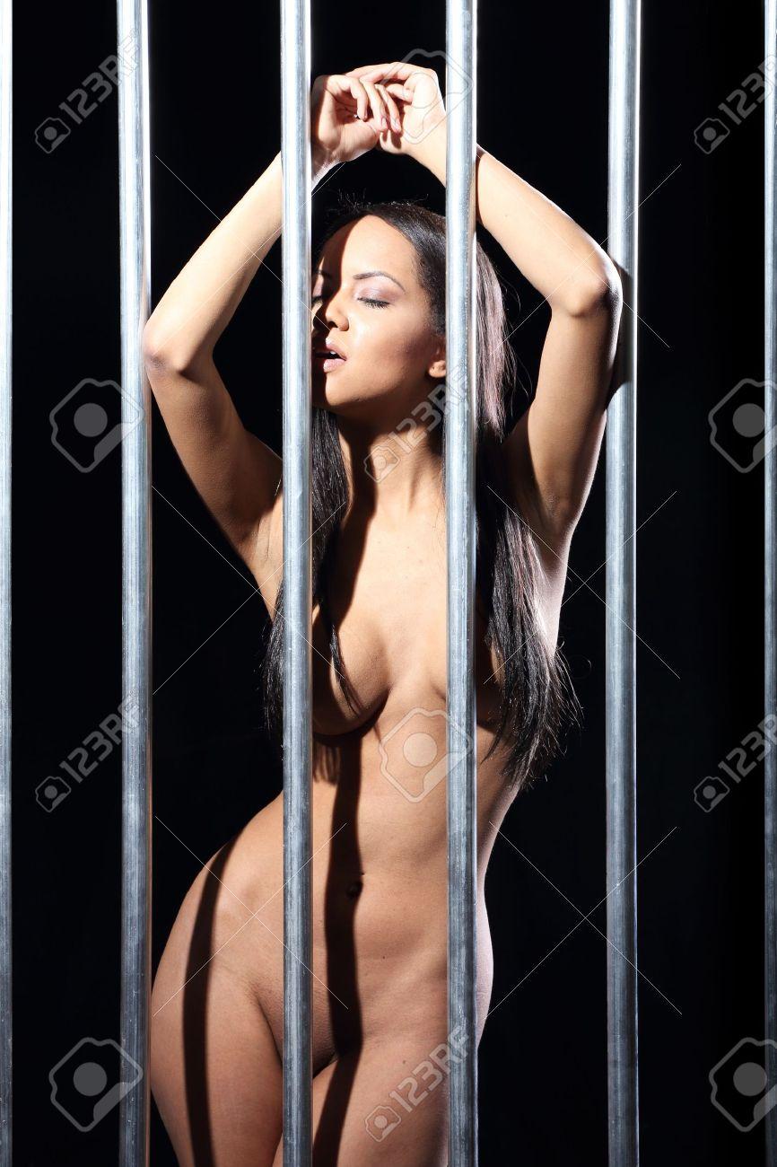 Naked Girl In Prison