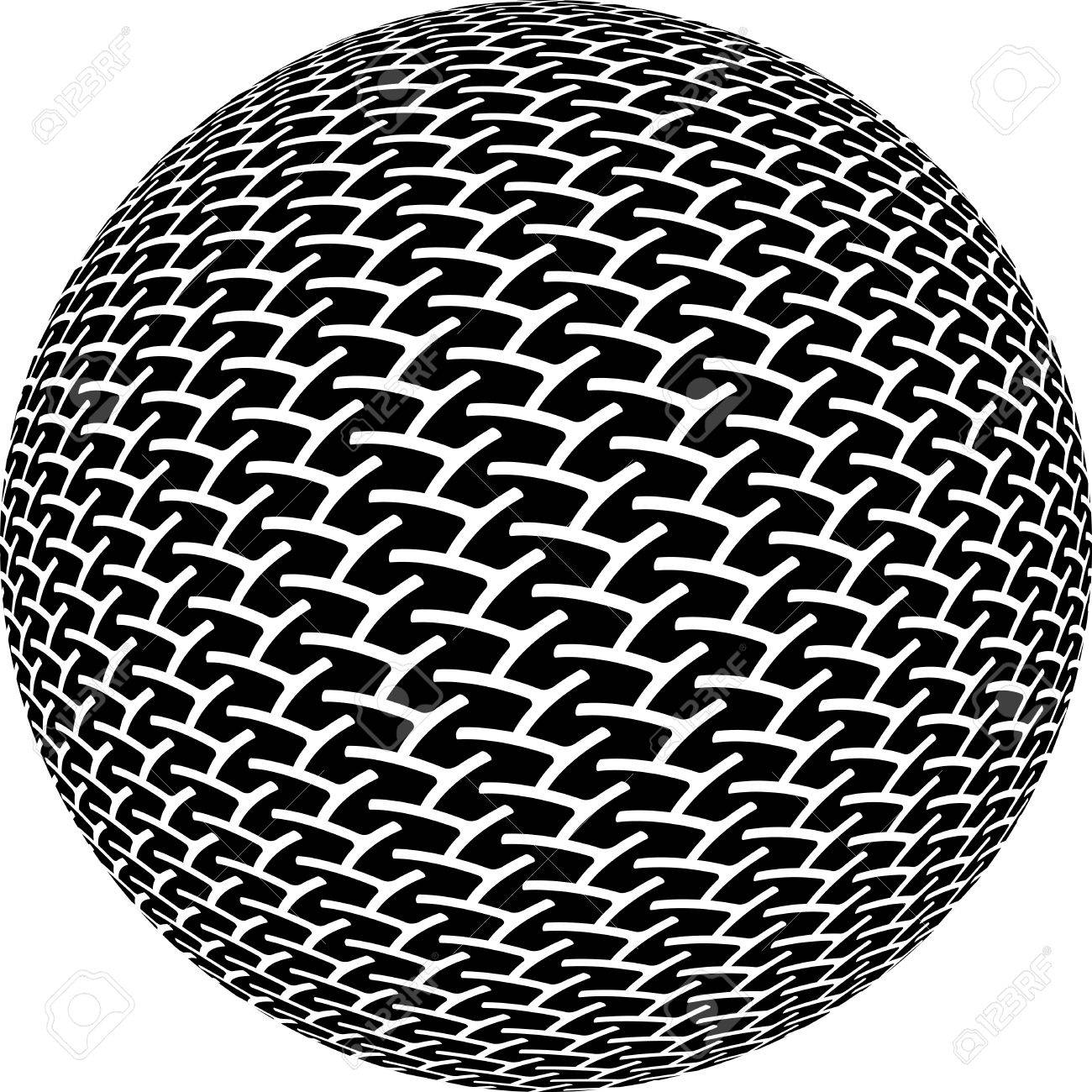 Microphone Top Stock Vector - 5698017