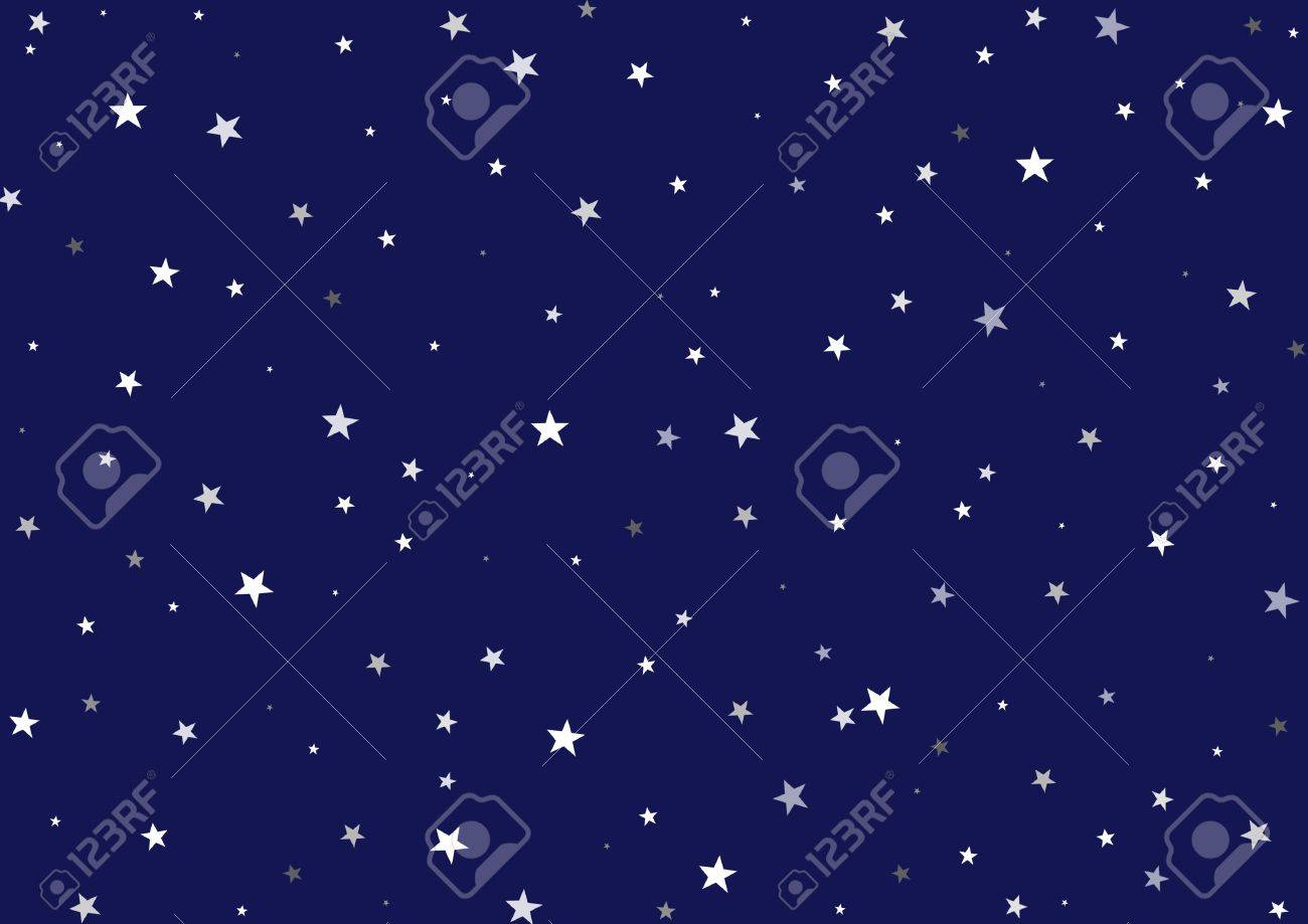 Background image dimensions - Illustration Of A Night Background Dark Blue Sky With Many Stars Of Different Dimensions Stock
