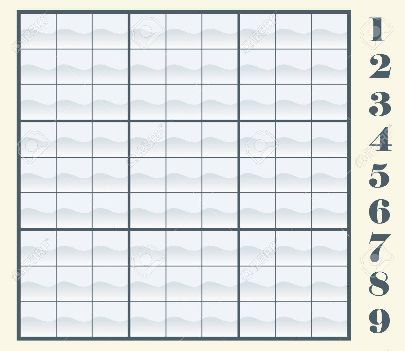 Create Your Own Sudoku Scheme By Copying/pasting The Numbers ...