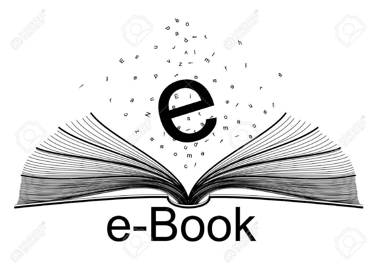 e-book Stock Vector - 8304787