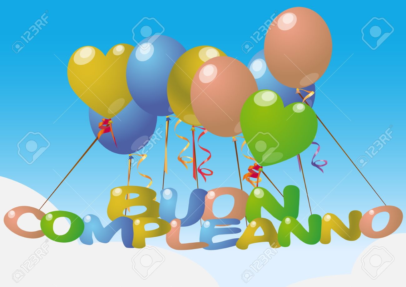 Поздравление с днем рождения на итальянском с переводом