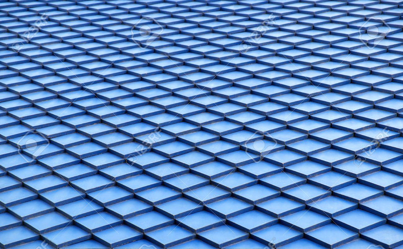 Dachziegel textur grau  Blau Dachziegel Textur Hintergrund. Lizenzfreie Fotos, Bilder Und ...