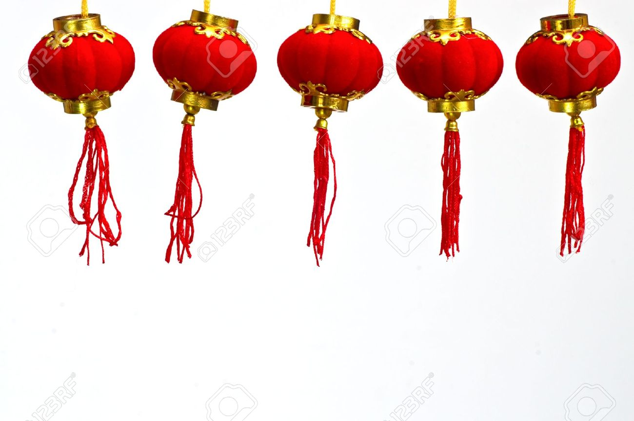 red paper chinese lantern to celebrate chinese new year stock photo 9228799 - Chinese New Year Lanterns