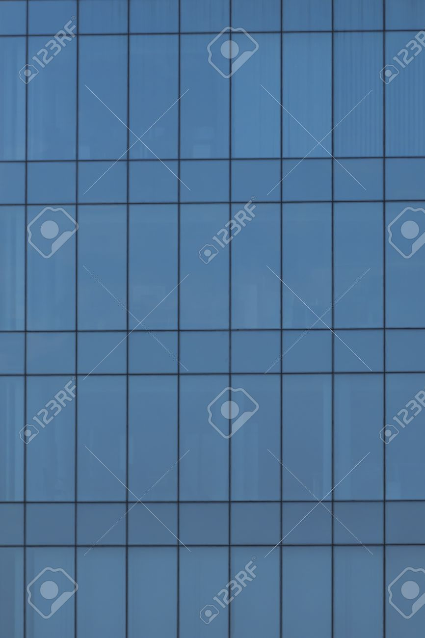 glass window texture. Blue Glass Windows Texture From Office Building Exterior Stock Photo - 10376045 Window O