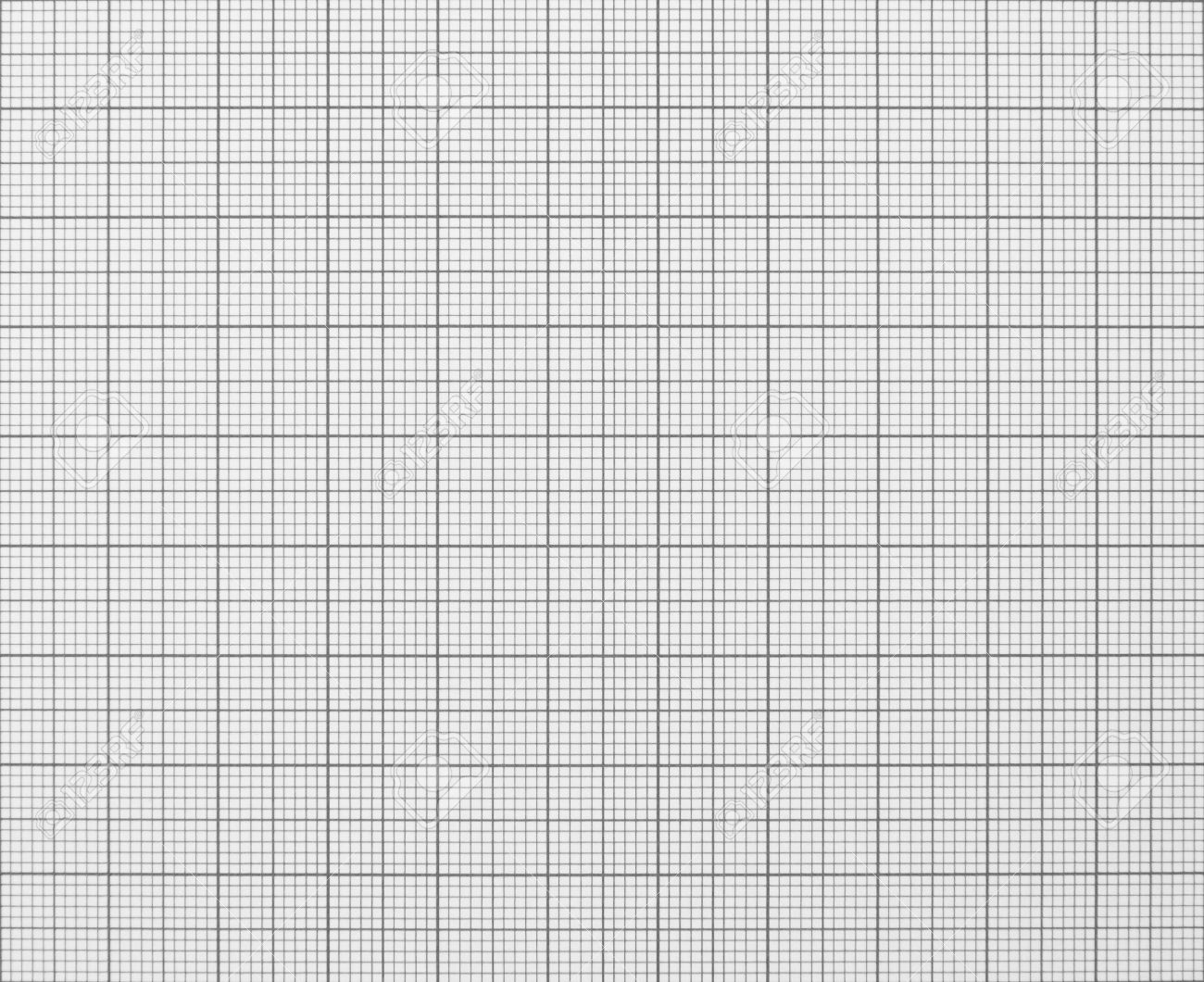 Squared Graph Grid Paper Texture Black And White Stock Photo ...