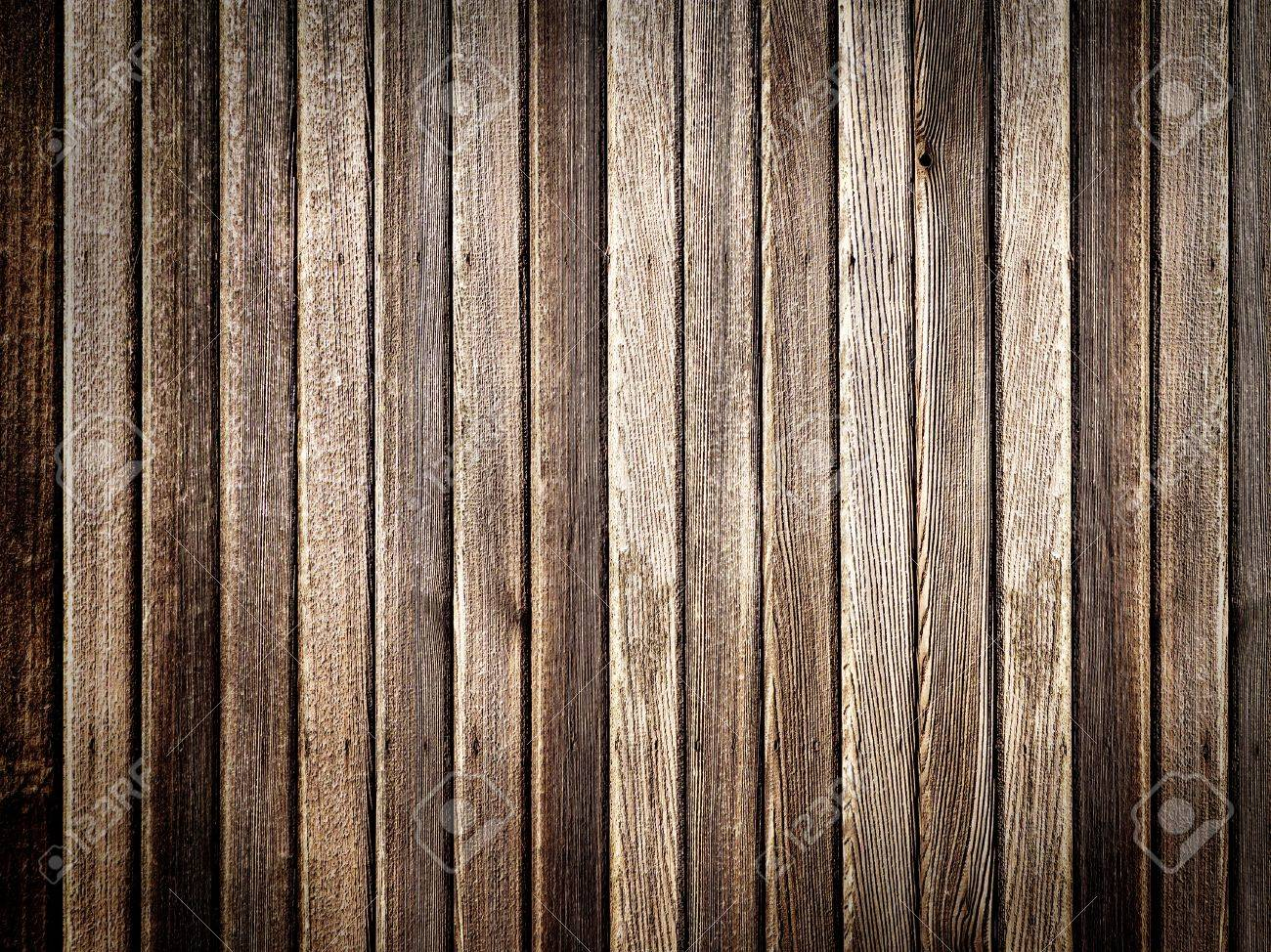 Highly detailed wooden wall with vignette Stock Photo - 14484978