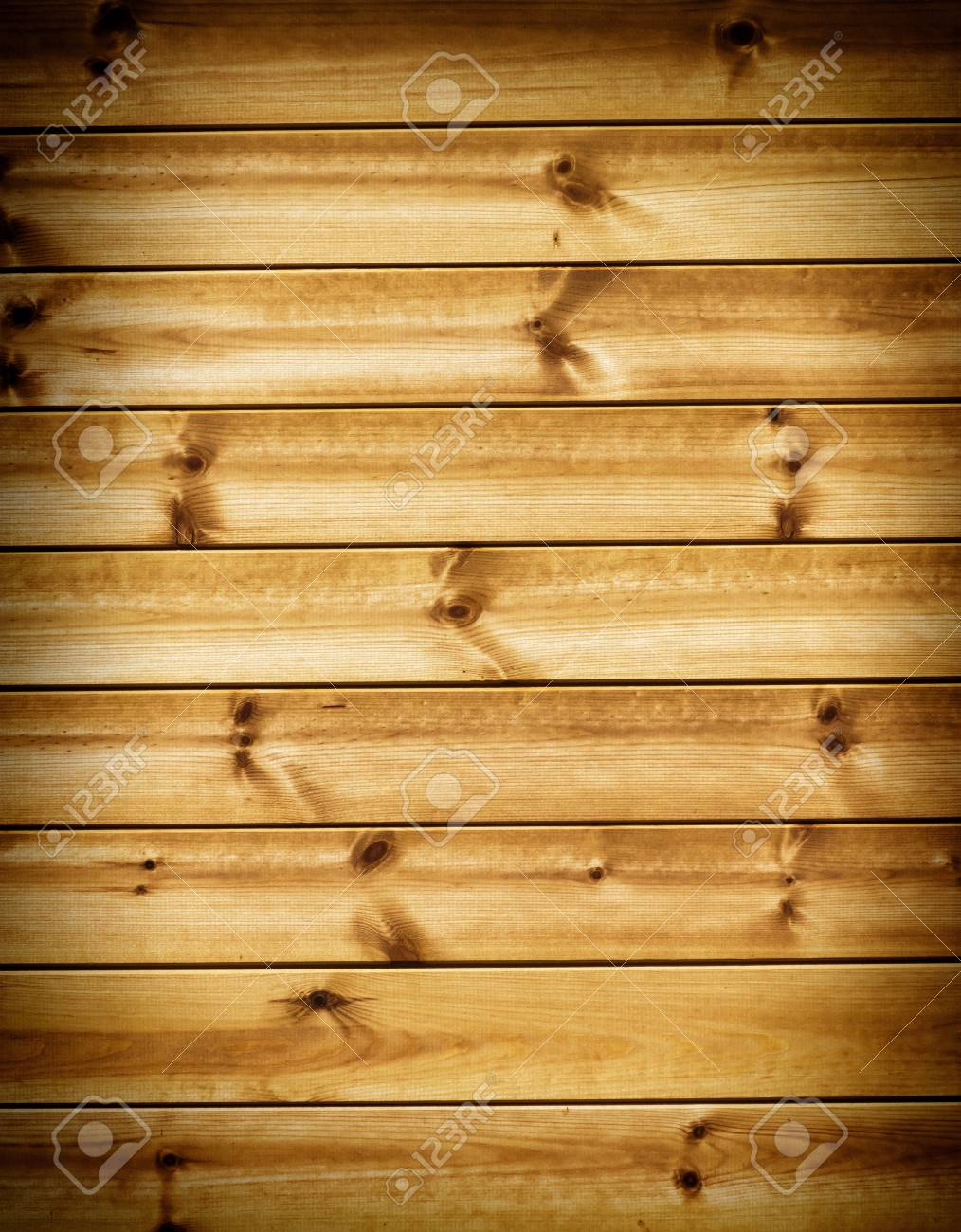 Wood wall background with vignette Stock Photo - 14576138