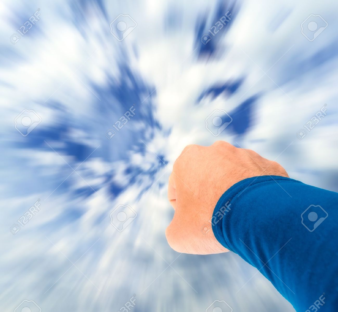 Superman arm flying towards sky with motion blur stock photo stock photo superman arm flying towards sky with motion blur publicscrutiny Gallery