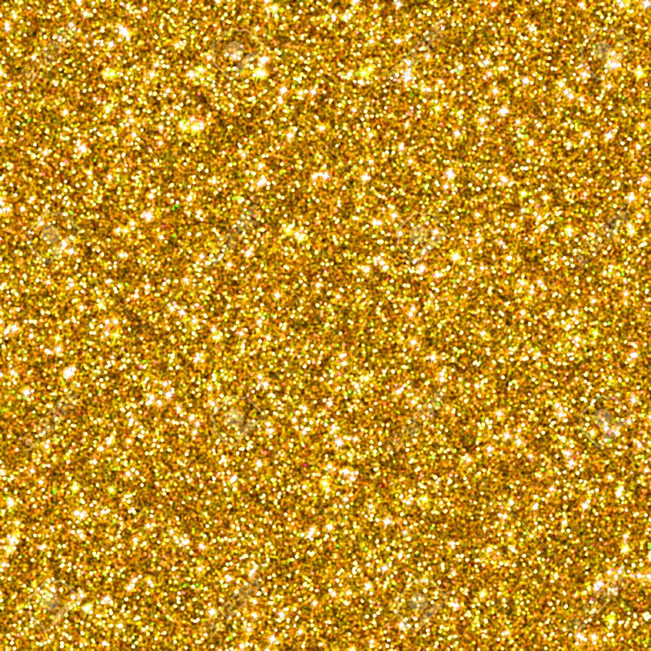 Delightful Golden Glitter For Texture Or Background Stock Photo   18239914