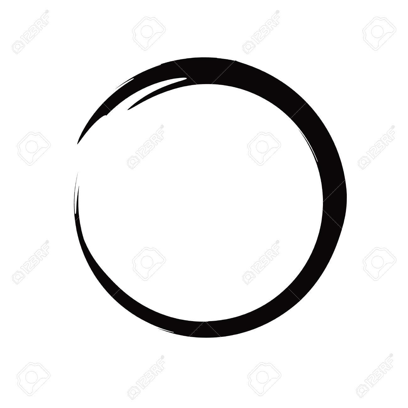brush painting enso zen circle vector illustration royalty free cliparts vectors and stock illustration image 115949898 brush painting enso zen circle vector illustration
