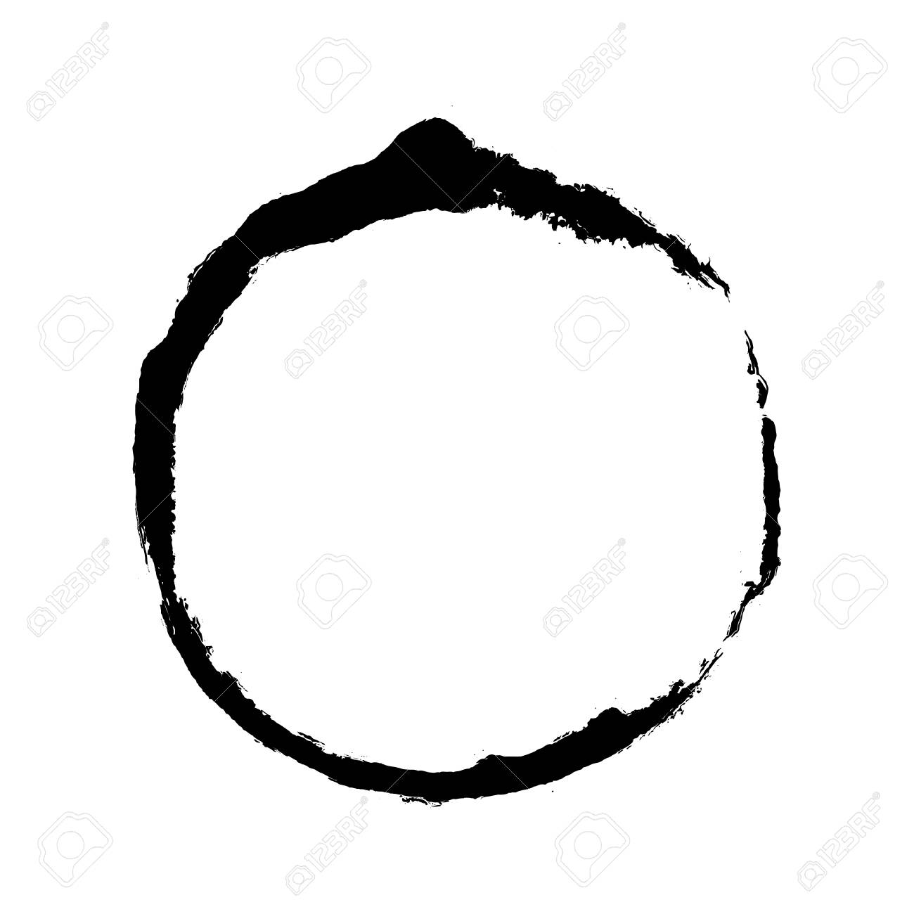 enso design dry black brush circle oil stroke ring watercolor royalty free cliparts vectors and stock illustration image 126207950 enso design dry black brush circle oil stroke ring watercolor