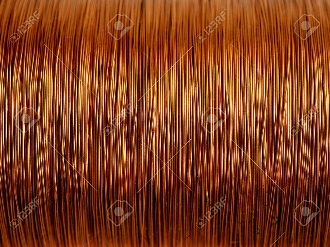 Background of copper wire - 11537654