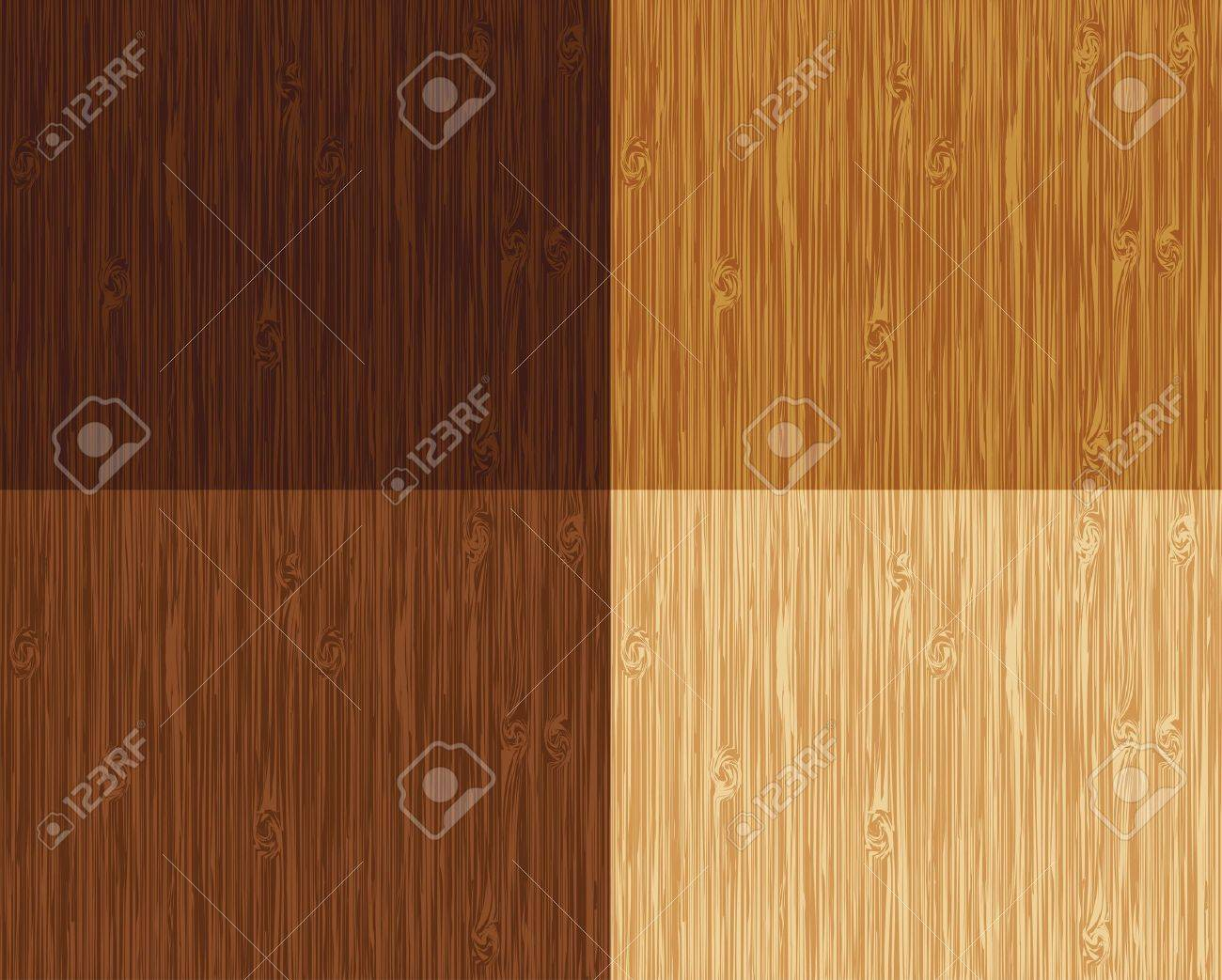 Seamless wooden pattern. 4 color variations. Stock Vector - 10617689