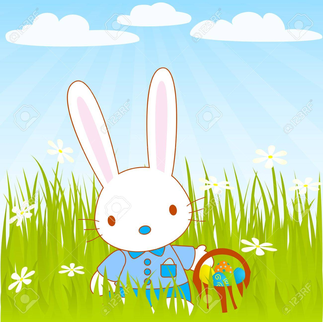 easter Mr bunny Stock Vector - 12485163