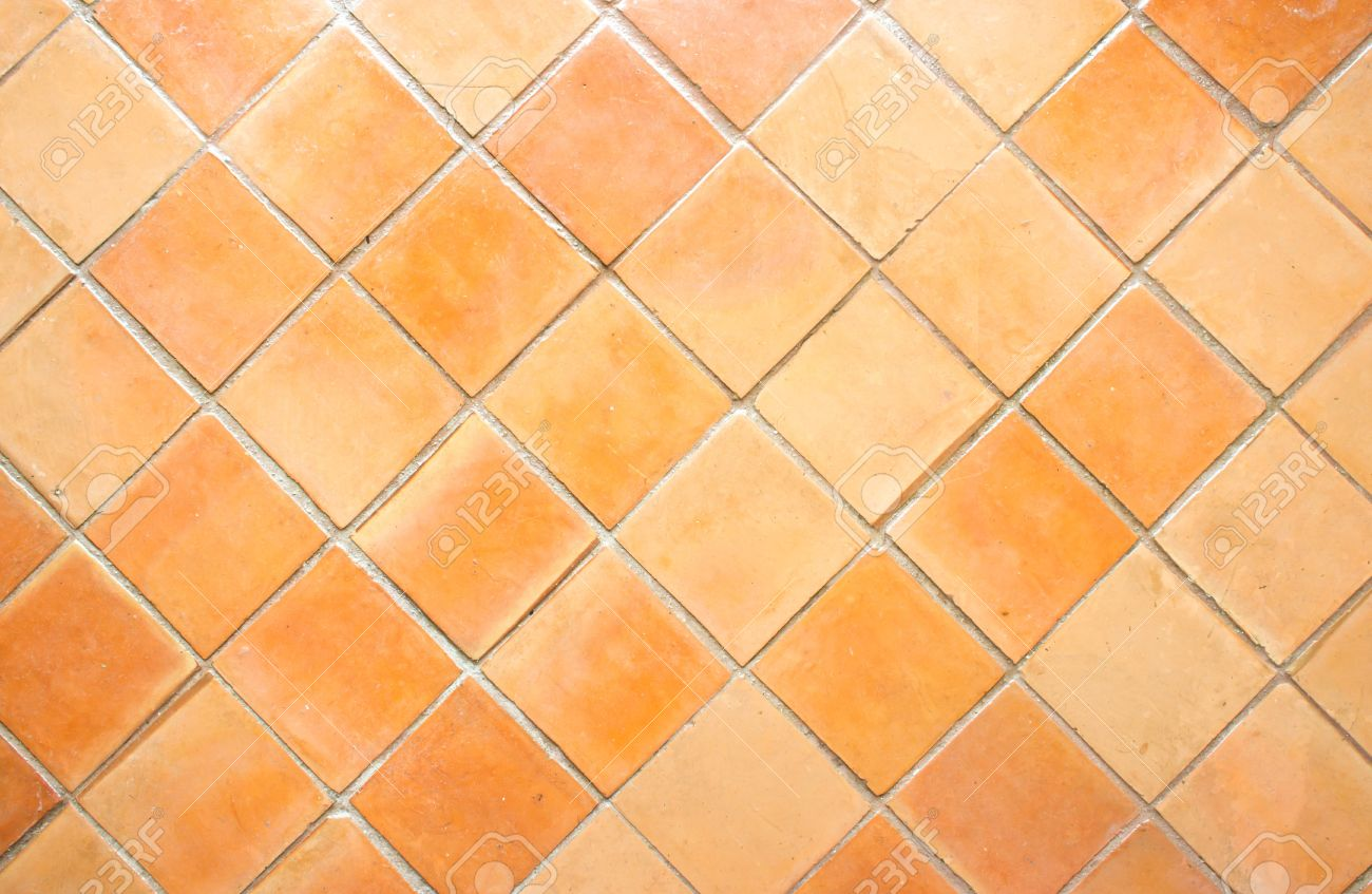 the square clay floor tile background stock photo picture and