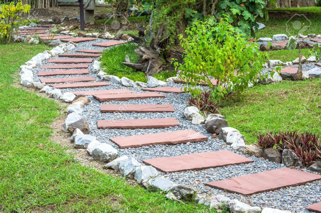 garden pathway for architecture design stock photo 15685693 - Garden Architecture Design