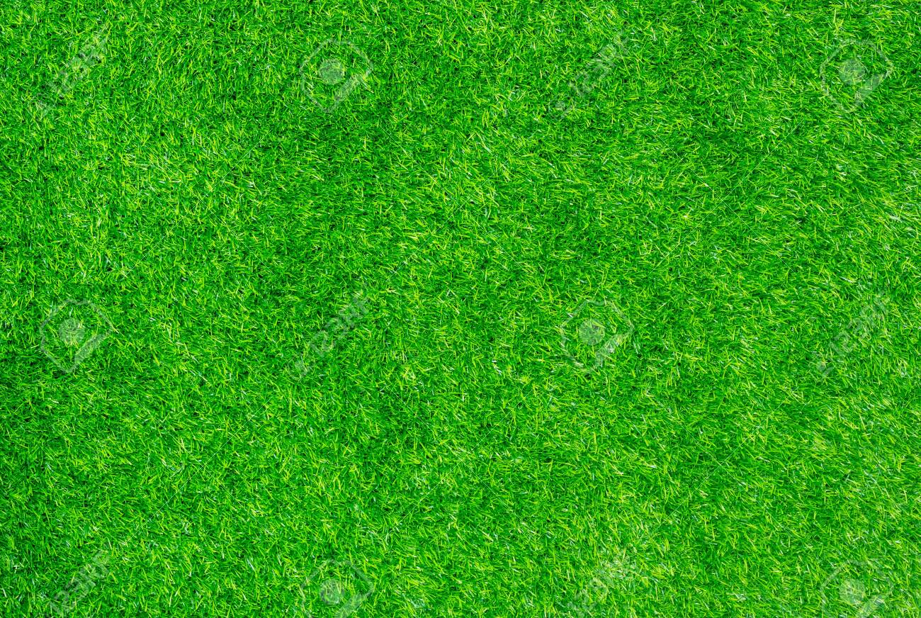 Green decoration artificial grass use for sport background. - 131979531