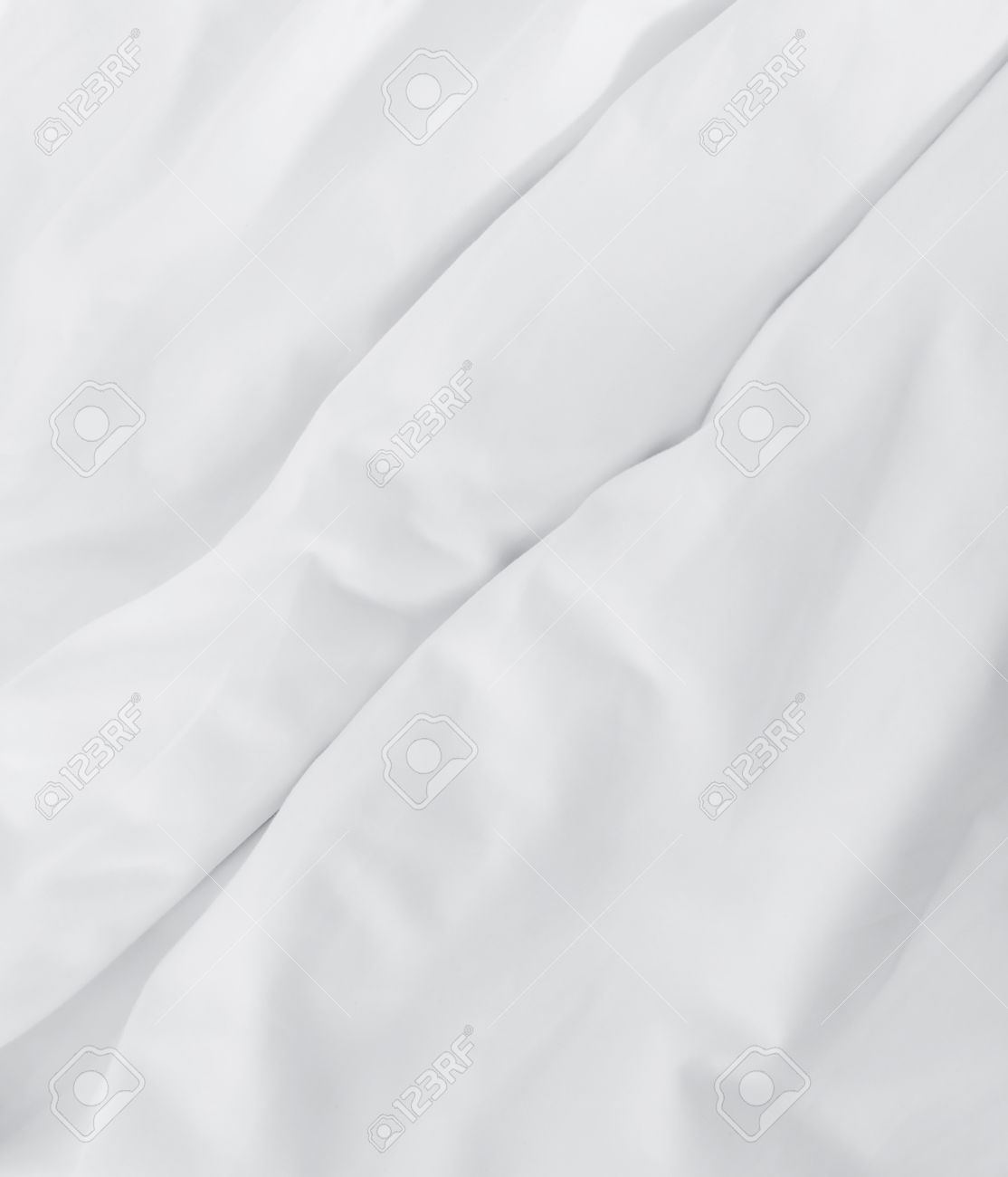 White bed sheet background - Wrinkle White Bed Sheet Background Stock Photo 37570890