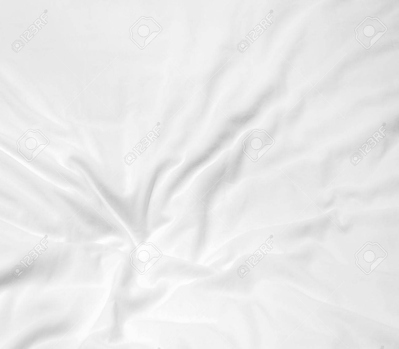 White bed sheet background - Soft White Bed Sheets Background Stock Photo 40986636