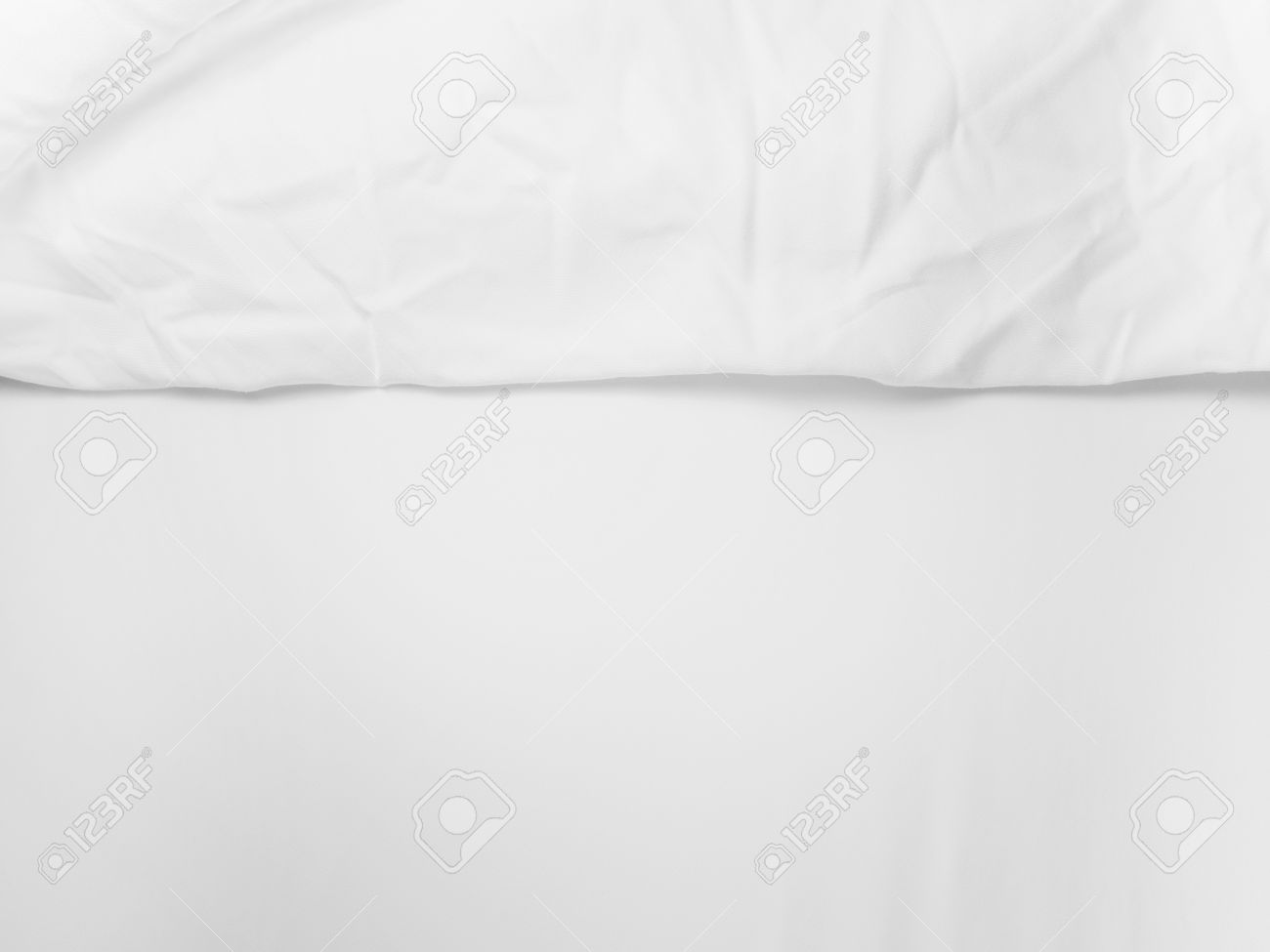 White bed sheet background - Soft White Bed Sheets For Background Stock Photo 48390111